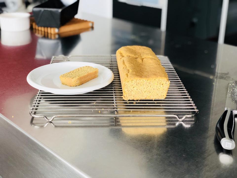 Pan de lino dorado